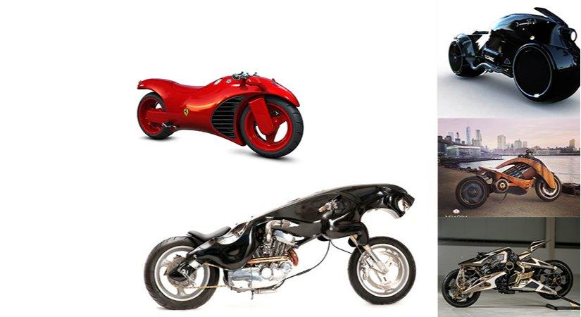 13 İlginç Ve Sıradışı Motorsiklet Tasarımı