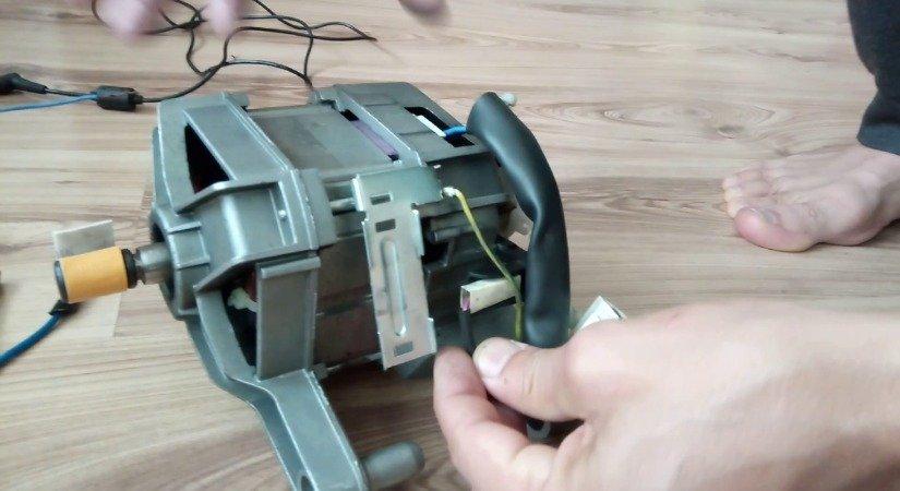 Çamaşır Makinesi Motorundan Elektrikli Araba Yaptı