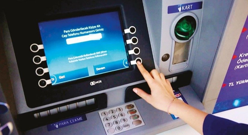 Cep Telefonuna Gelen Havale (Cebe Havale) ATM'en Nasıl Çekilir