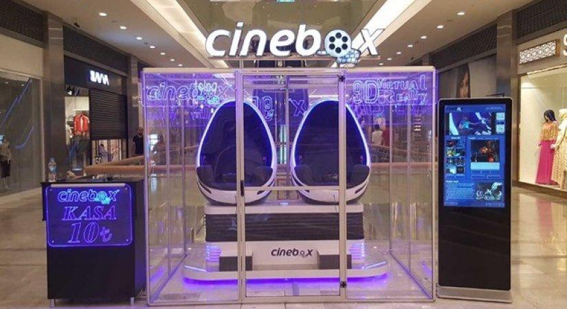 Cinebox 9D Sinema Bayilikler Veriyor
