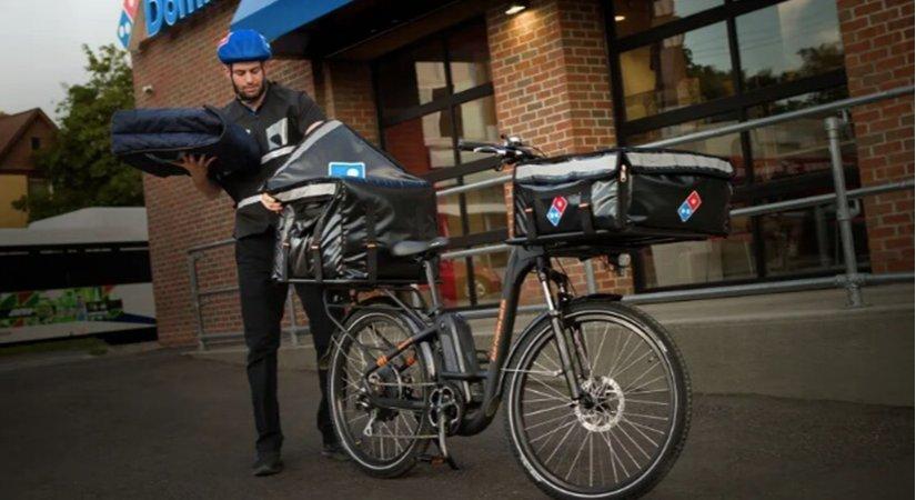 Domino's ABD'deki Pizzayı Teslim Etmek İçin E-Bisiklet Kullanacak
