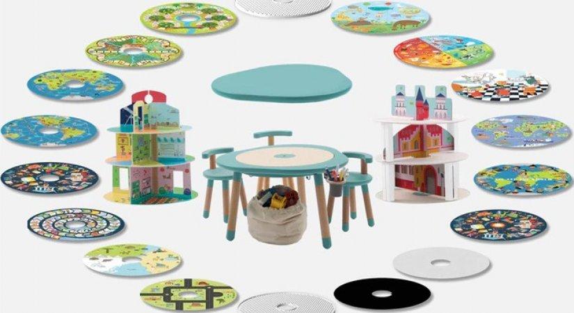 Eğlenceli Bir İş Fikri Mutable 2.0 Çocuk Oyun Masası