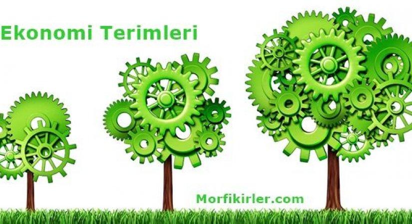 Ekonomi Terimleri Sözlüğü İngilizce Türkçe Anlamı Nedir