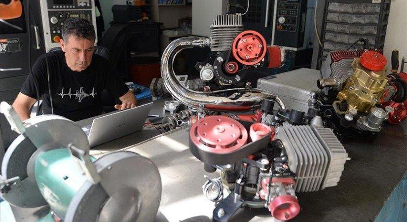 Hafif Hava Araçları İçin Ürettiği Ay Yıldızlı Motorları İhraç Ediyor
