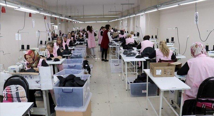 Kadın Girişimciler Tekstil Atölyesi Kurdu 45 Kişiyi İstihdam Etti