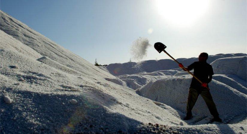 Kırıkkale Tuz Fabrikası Kuruluyor