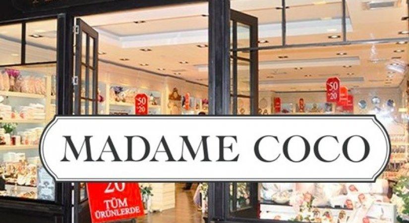 Madame Coco Yurt dışında bayilik veriyor