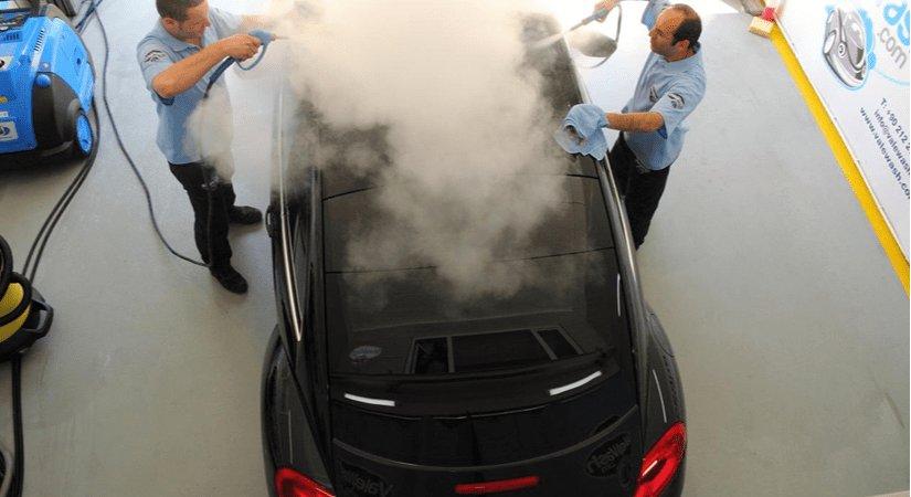Mobil Sistem Buharlı Oto Yıkama