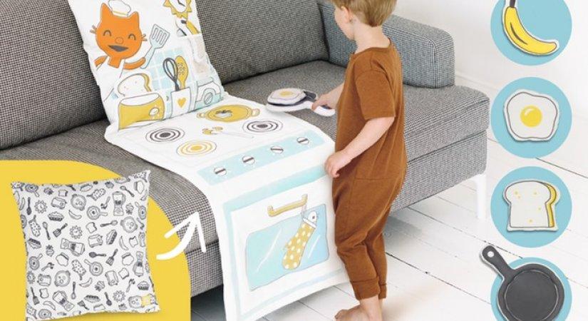Sago Mini'nin Yastık Oyun Setleri ve Çocuklar İçin Zeka Geliştirici Oyuncaklar