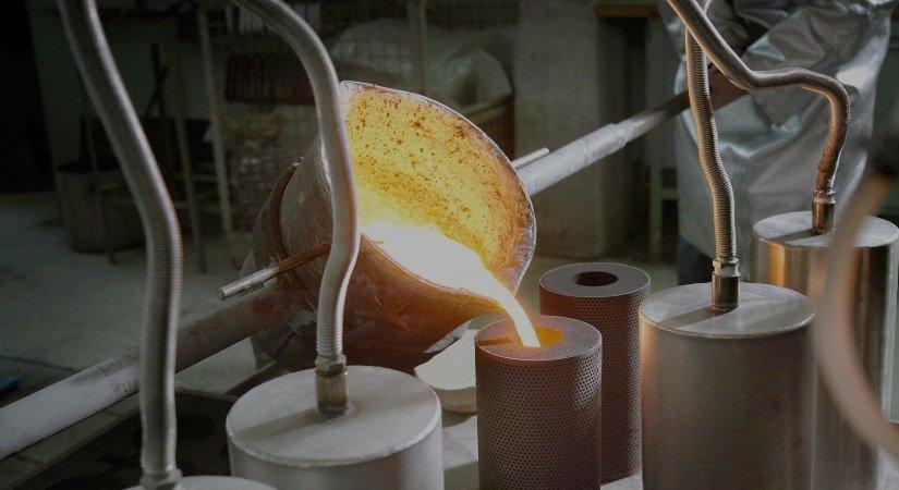 Yarı Katı Metal Döküm Tekniği ile Alüminyum Alaşımlı Parçaların Dökümleri Fikri