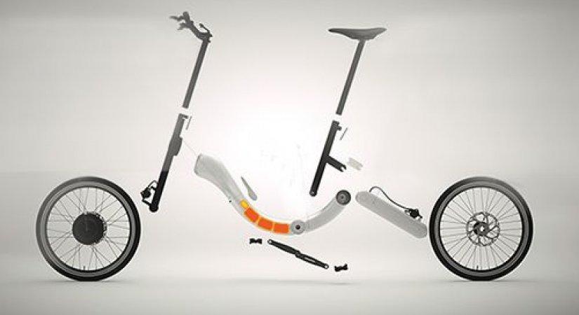 Zincirsiz ve Katlanabilir İlk Bisiklet JIVR
